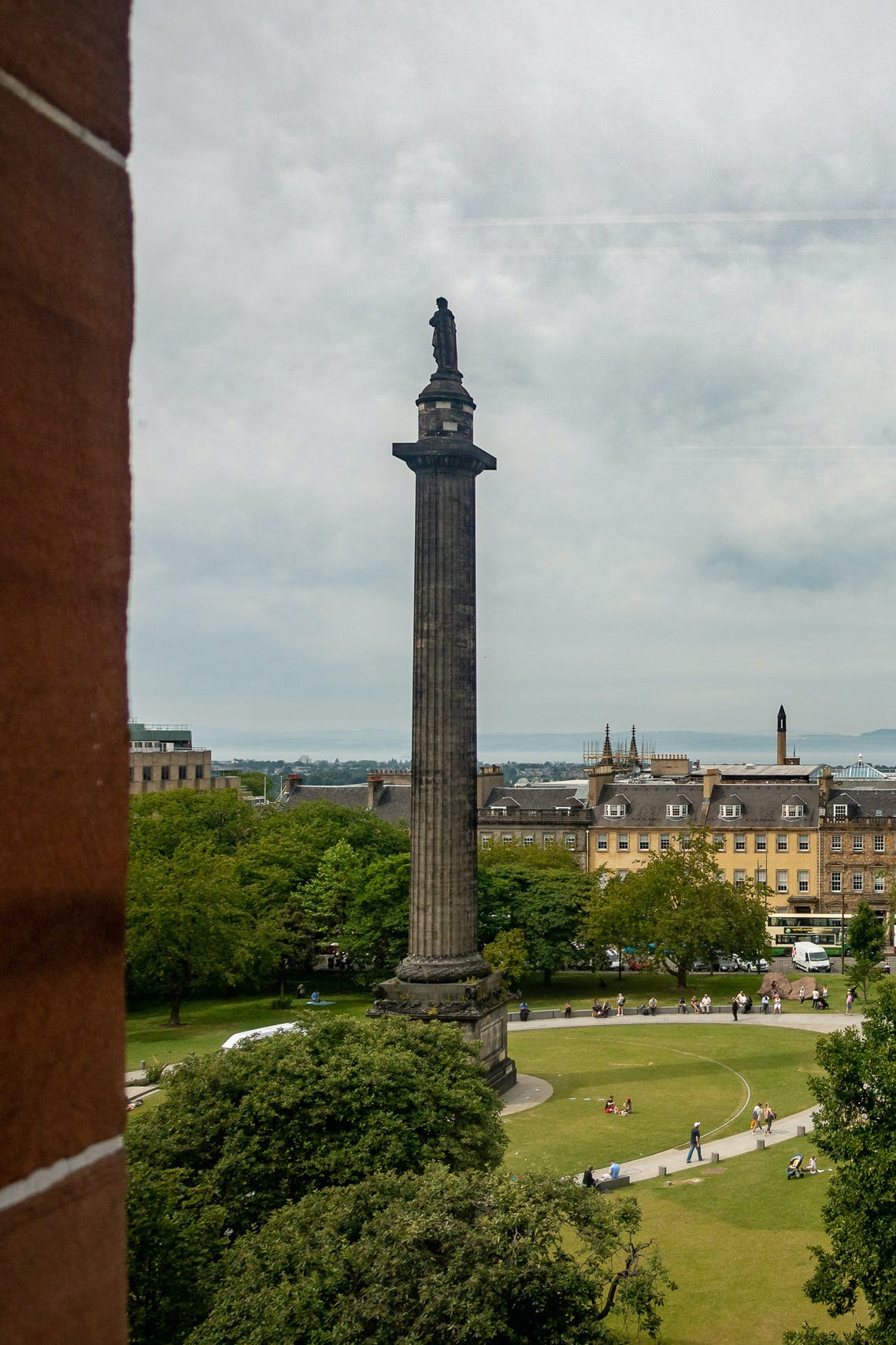 A view of St Andrew Square from the board room